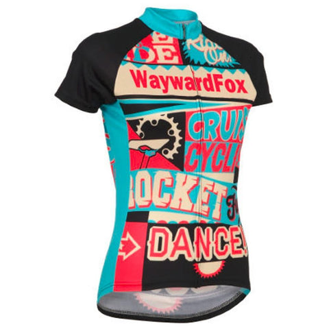 Summer Women's cycling jersey short sleeve WaywardFox cycling