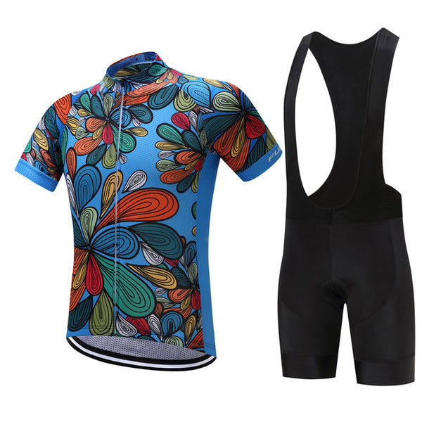 2018 Breathable Cycling Jersey Set
