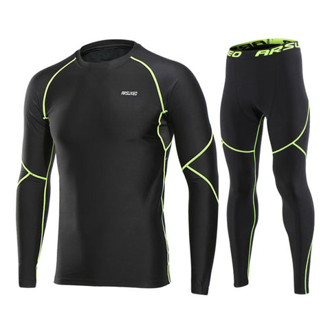 Men Winter Sports Cycling Base Layers Thermal Underwear Men For Ski/Hiking/Snowboard