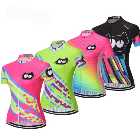 2018 Cycling jersey women bike jerseys MTB team clothing