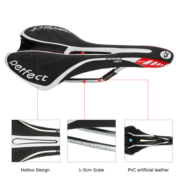 PVC Leather Bicycle Saddle Soft Shockproof Mountain Road MTB Saddle Seat Sillin Cycling Seat Mat Bicicleta Bike Parts