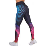 Womens 3D Print sports trousers Sweatpants Sportswear Tight flexible track Skinny Workout Gym Leggings Fitness Pants