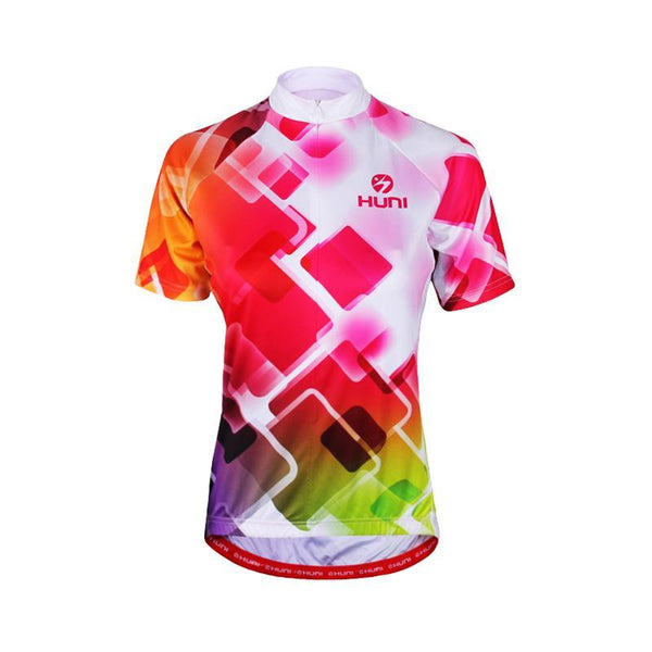 Women MTB Breathable Cycling Jersey Short Sleeve