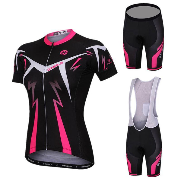 2018 Pro Team Short Sleeve Women Cycling Jersey