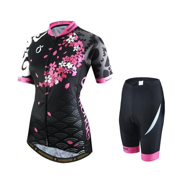 Summer Women's Cycling Jerseys MTB Bike Shirts Racing Clothings