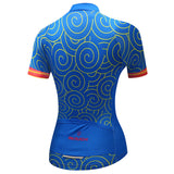 Women Cycling Jersey Summer Short Sleeve Riding Bicycle Cycling