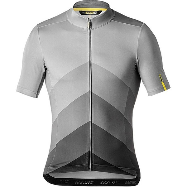 2018 New Style MAVIC Cycling Jersey short sleeve Summer Riding