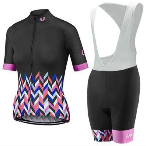 Women 2018 Liv 100% Breathable Cycling Jersey Summer Racing Bicycle Clothing Ropa Maillot Ciclismo Bike Clothes