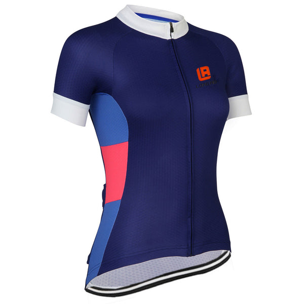 Women Cycling Jersey Breathable Short Sleeve