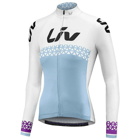 Liv cycling jersey women 2018 Summer Spring long sleeve Jersey road riding shirt road bike cycling clothing