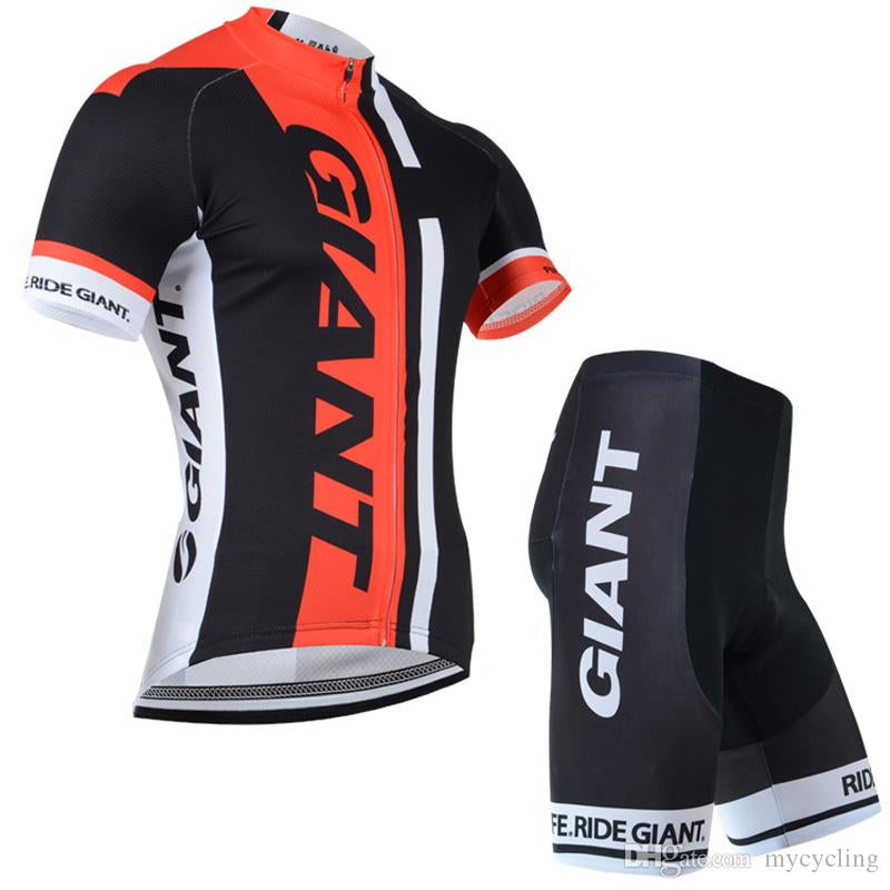 GIANT Cycling Jersey Set Short Sleeve Men 2018