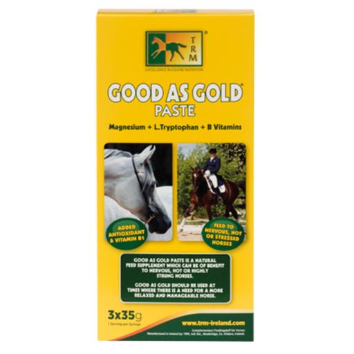 TRM Good As Gold Paste 3 x 35g Tubes