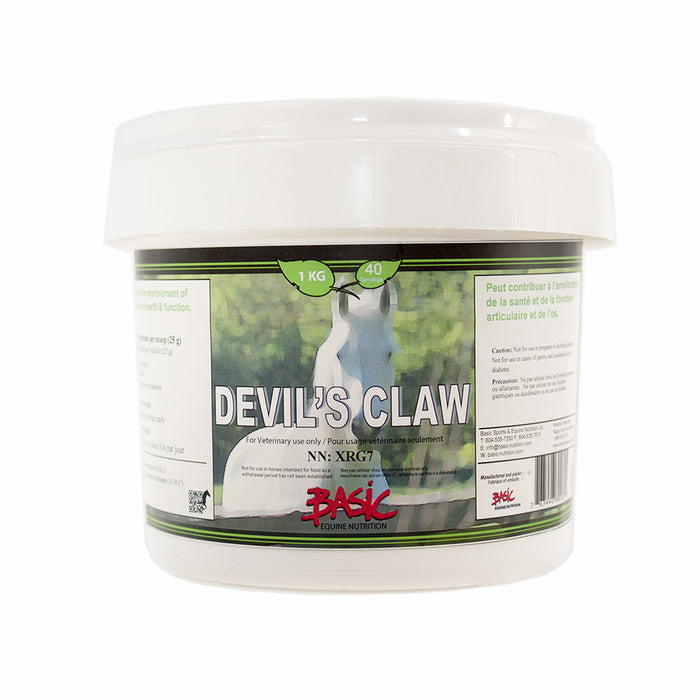 Basic Equine Nutrition Devils Claw Pure 1kg