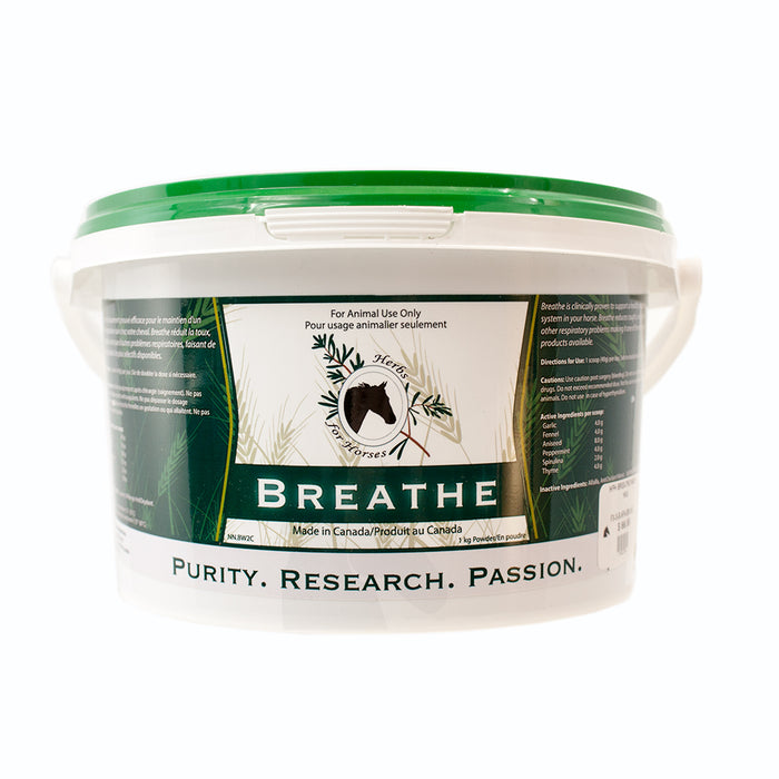 Herbs For Horses Breathe with Garlic 1kg