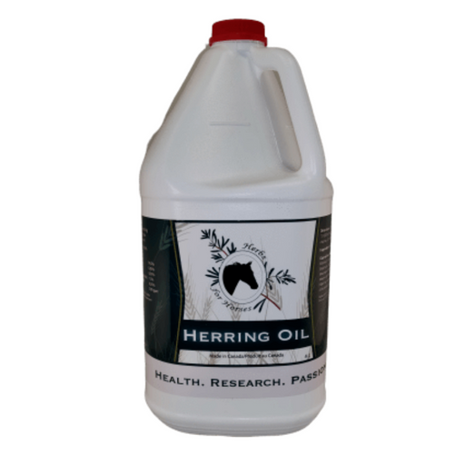 Herbs For Horses Herring Oil 4L