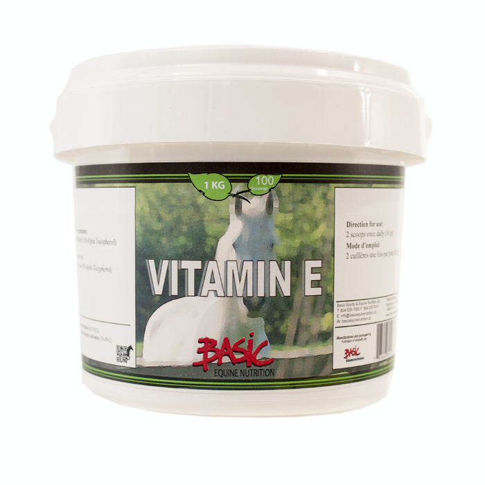 Basic Equine Nutrition Vitmain E Pure 1kg
