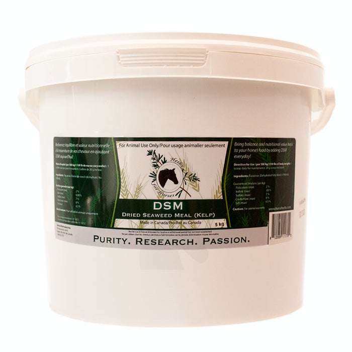Herbs For Horses DSM Dried Seaweed Meal 5kg