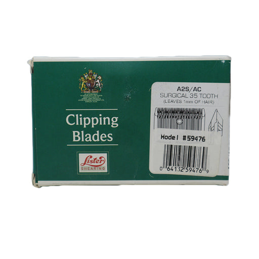 Lister Star Clipping Blades A2S - Surgical
