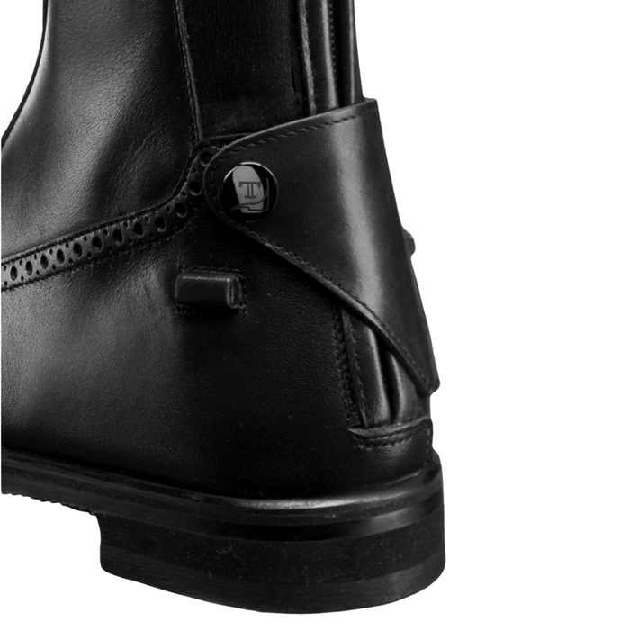 Tucci Time Tall Boot Marilyn - Black - Punched Leather