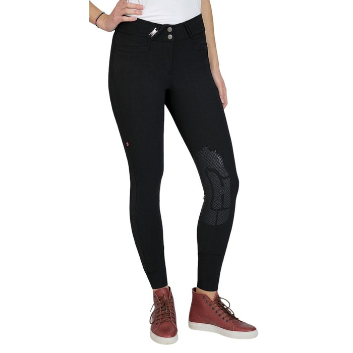 For Horses Remie Tech Grip Breeches - Black