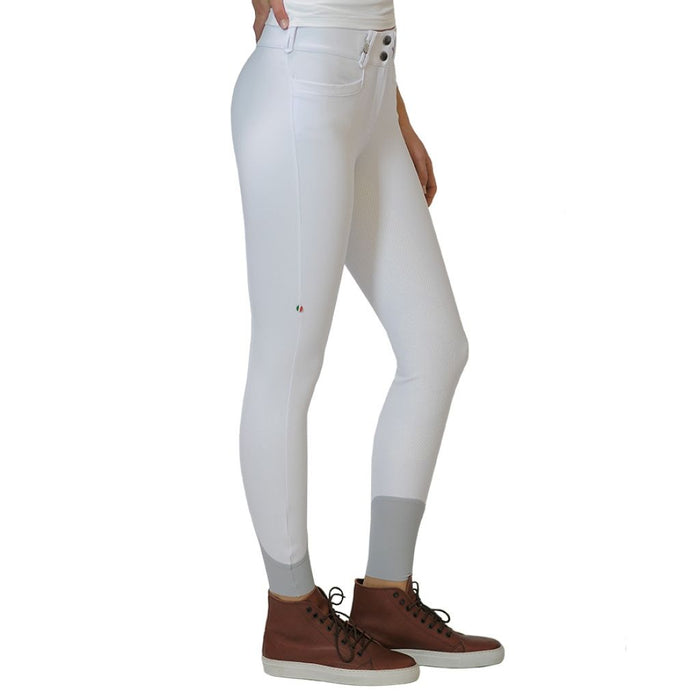 For Horses Remie Tech Grip Breeches - White