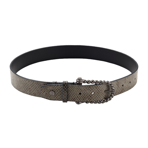 Hannah Childs Lifestyle Python Twisted Bit Belt