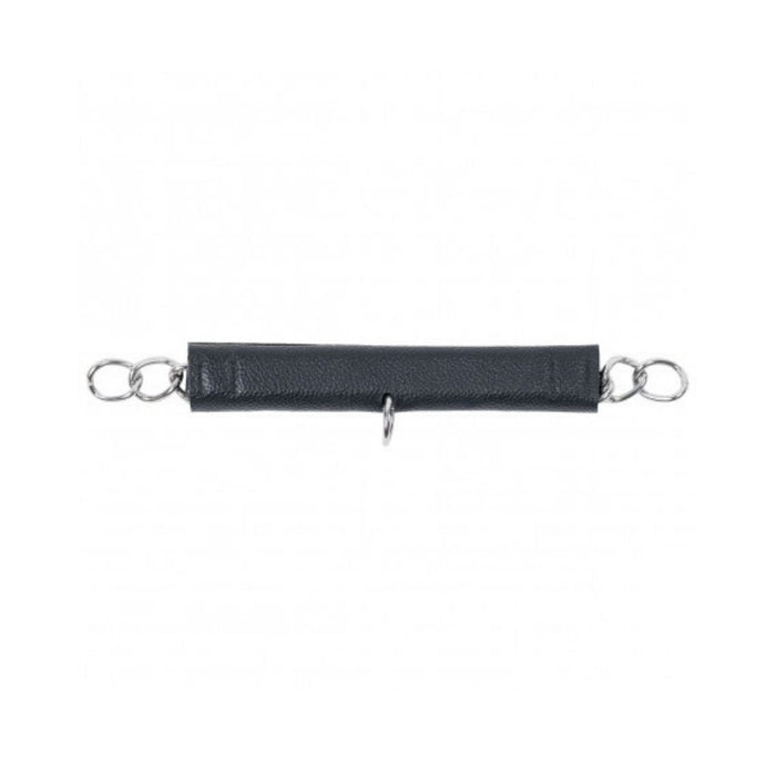 Dyon Leather Curb Chain Protection With Neoprene Padding