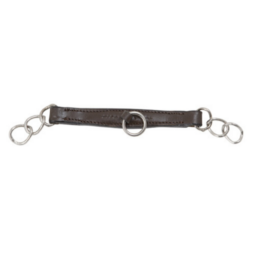 Shires Leather Curb Chain