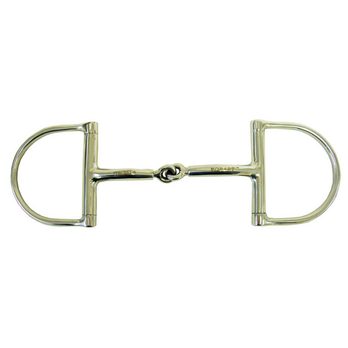 Robart Pinchless Hunter Dee Ring Snaffle