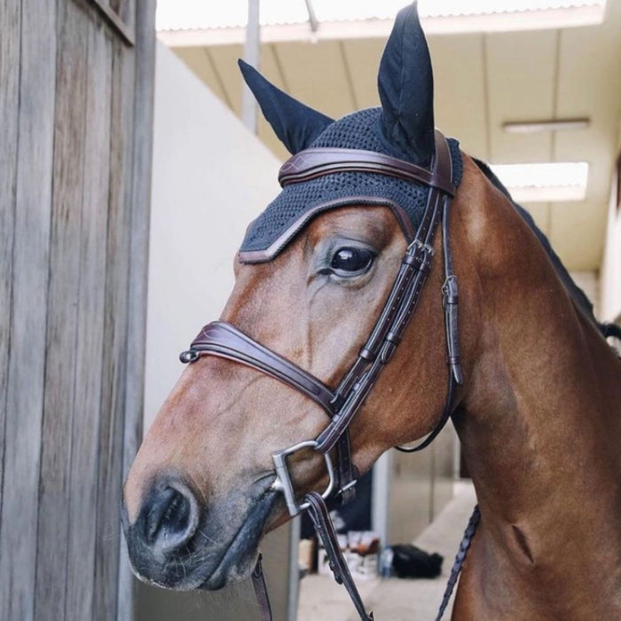 Dyon Signature Anatomic Bridle Silver