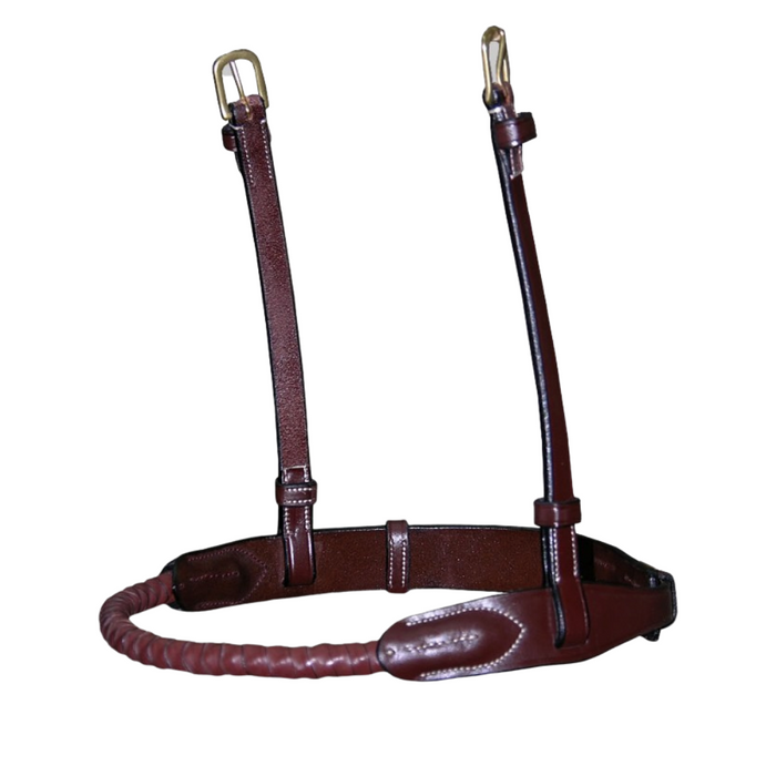 Dyon Rope Noseband Leather Covered Dyon Collection