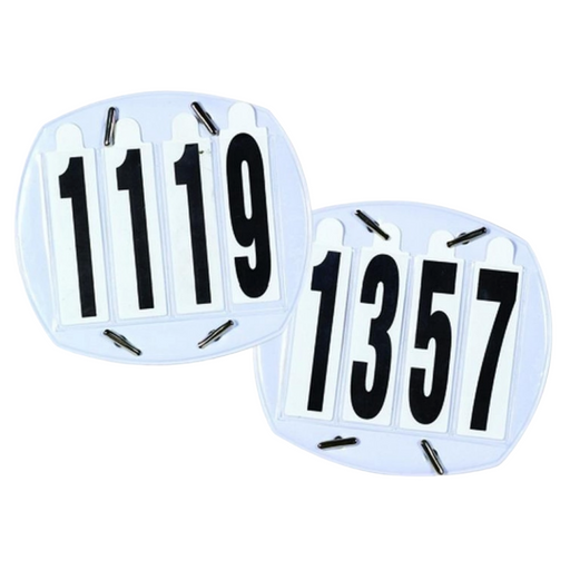 Equi-Essentials 4 Digit Number Set - Pair