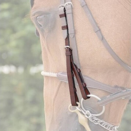 Dyon Double Bridle Cheek Pieces New English Collection