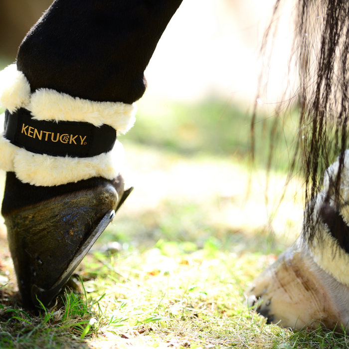 Kentucky Horsewear Synthetic Sheepskin Pastern Wrap