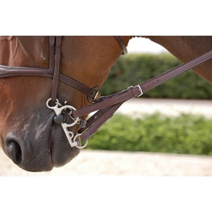 "Dyon Rubber Converter Reins 5/8"" New English Collection"