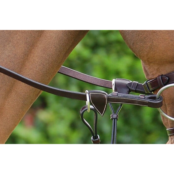 "Dyon Rubber Reins 5/8"" Working Collection"