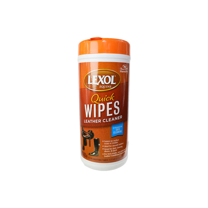 Lexol Quick Wipes Leather Cleaner 25 pcs