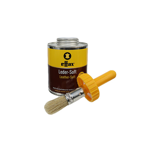 Effax Leather Soft 475m with Applicator Brush