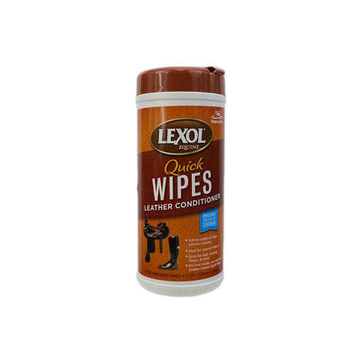 Lexol Quick Wipes Leather Conditioner 25 pcs