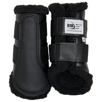 DSB Dressage Sport Boot Original with Black Fleece