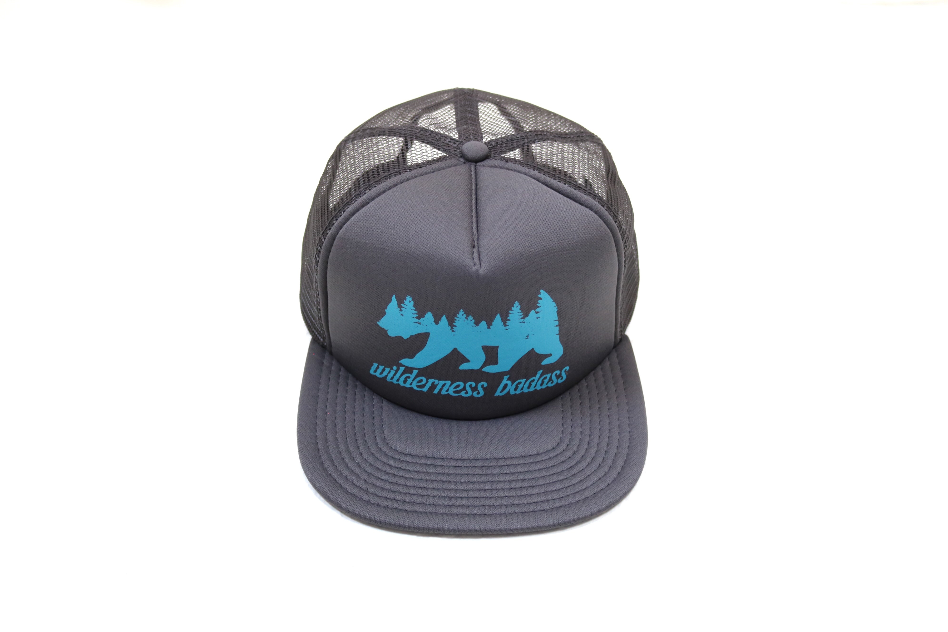Grizzly Forest Trucker | Gray