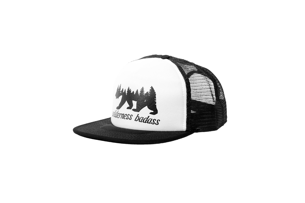 Grizzly Forest Trucker | White