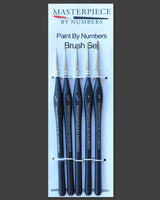 Paint Brush Set - 5 Piece