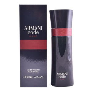 Code A List Armani EDT (75 ml) - Mandetingen