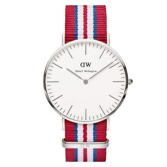 Daniel Wellington - (40 mm) Sølv - Mandetingen