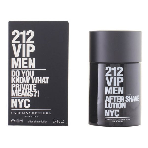 After Shave Lotion 212 Vip Men Carolina Herrera (100 ml) - Mandetingen