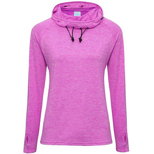 NI Sports Elite Girlie cool cowl neck top