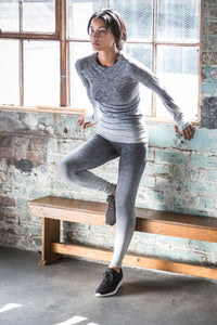 NI Sports Elite Seamless fade out long sleeve top