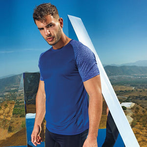 NI Sports Elite contrast sleeve performance t-shirt