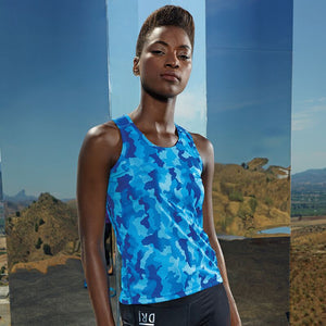 NI Sports Elite Women's Hex vest top